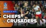 Chiefs v Crusaders Rd.8 2021 Super rugby Aotearoa video highlights