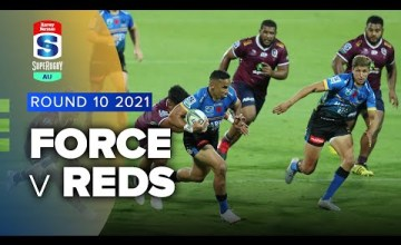 Western Force v Reds Rd.10 2021 Super rugby AU video highlights