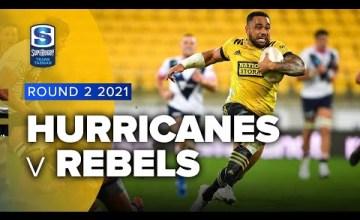 Hurricanes v Rebels Rd.2 2021 Super rugby Trans Tasman video highlights