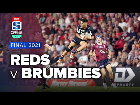 Reds v Brumbies 2021 Super rugby AU Grand final video highlights