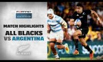 Argentina v New Zealand Rd.4 2021 Rugby Championship video highlights