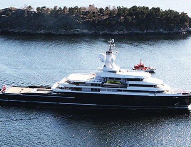 Motor Yacht Luna 115m Delivered To Roman