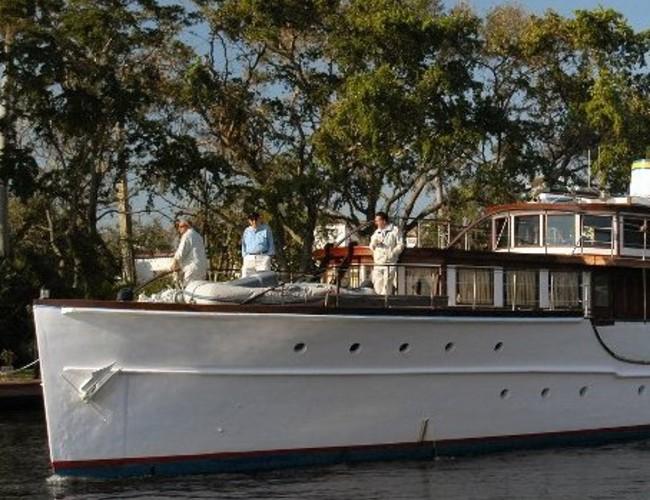 Ex Presidential Motor Yacht Honey Fitz