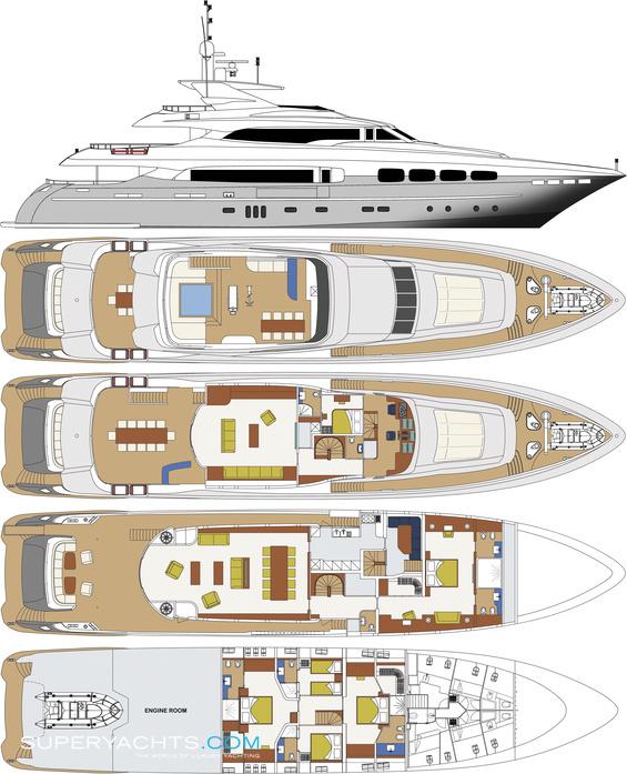 Manifiq Layout Mondomarine Motor Yacht