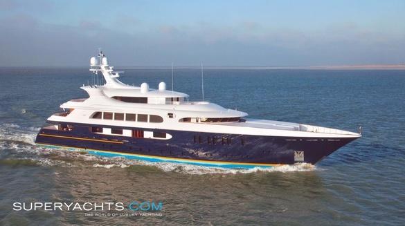 Pestifer Yacht Feadship Motor Yacht