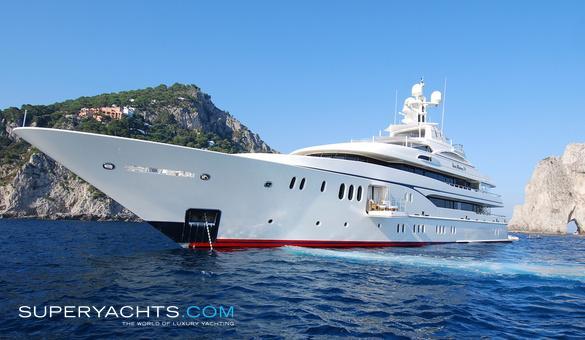 Lady Kathryn V Charter Lurssen Yachts Motor