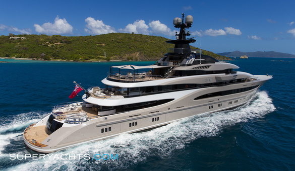 Kismet Charter Lurssen Yachts Motor Yacht