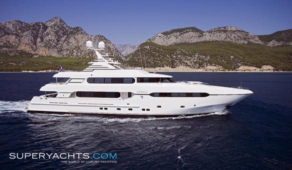 Africa Sunrise Yachts Motor Yacht