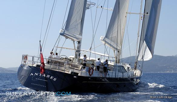 Antares Yacht Royal Huisman Sail Yacht