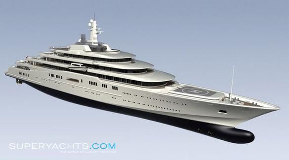 Eclipse Blohm Voss Shipyards Motor Yacht