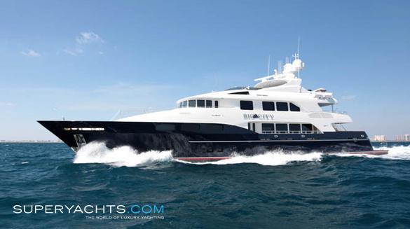 Big City Trinity Yachts Motor Yacht