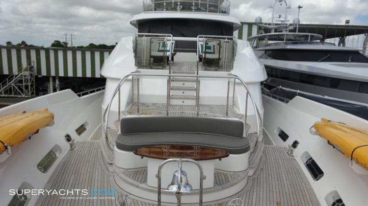Gene Machine Yacht Layout Westport Motor