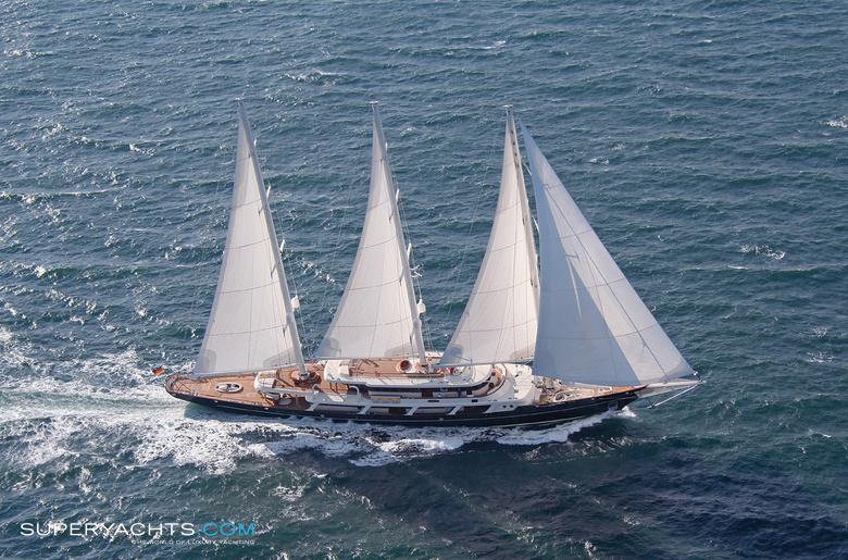 EOS Yacht Photos Lurssen Yachts Sail Yacht