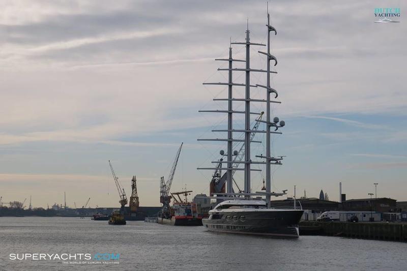 Black Pearl Photos Oceanco Sail Yacht