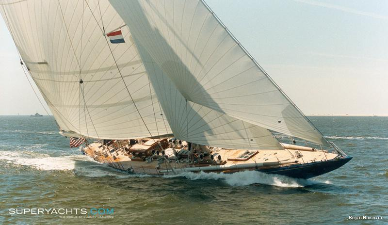 Endeavour Photos Royal Huisman Sail Yacht