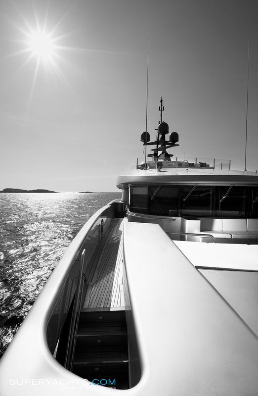 Slipstream Photos CMN Yachts Motor Yacht
