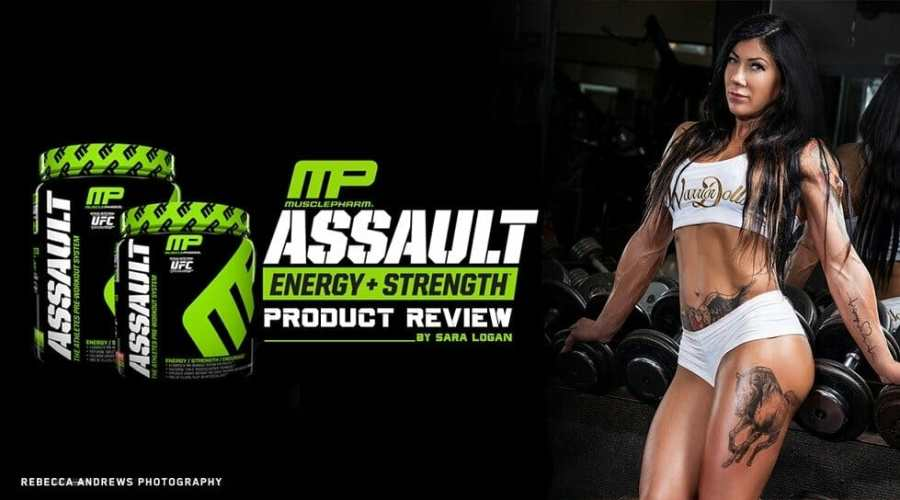 Assault MP - Pré Treino importado da Muscle Pharm