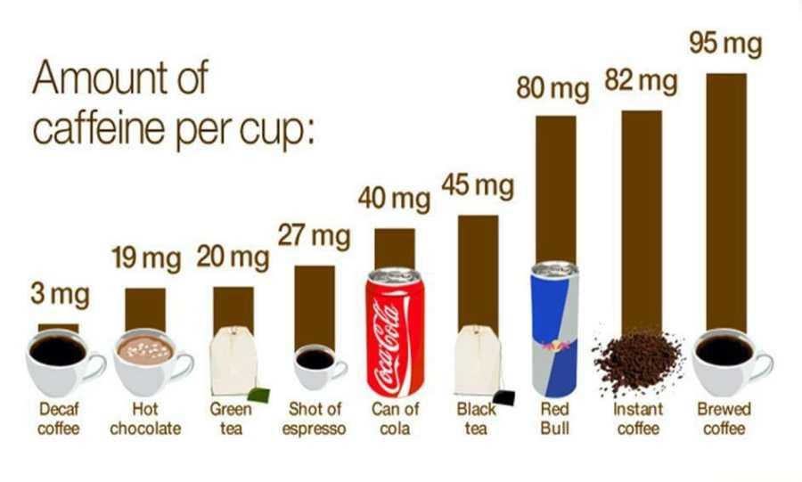Alimentos que contém cafeína para emagrecer e queimar gordura