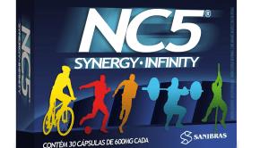 NC5 Synergy Infinity da Sanibras - Suplemento para atletas de alto rendimento