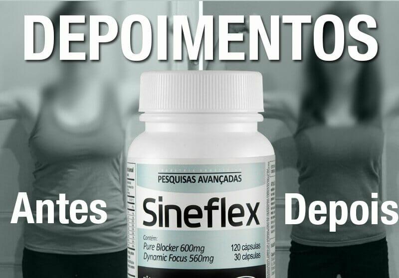 Sineflex Depoimentos, Relatos e Resultados de uso - antes e depois