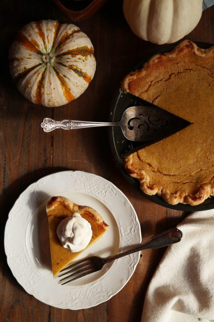 Pumpkin Buttermilk Pie - Supper With Michelle