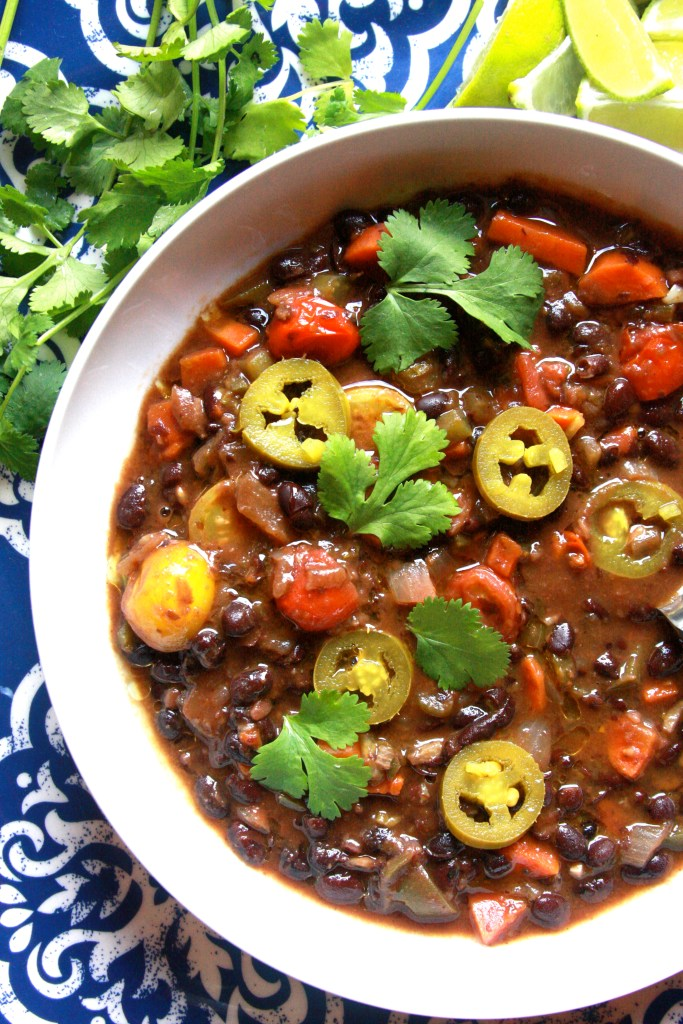 Emilie's Favorite Black Bean Soup & New Cookbook by Supper With Michelle