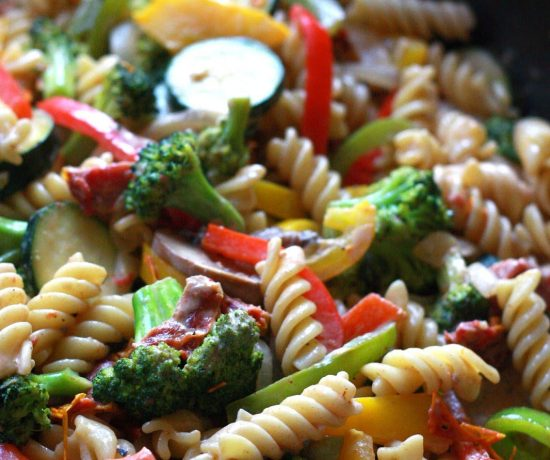 Creamy Vegetable Cajun Pasta