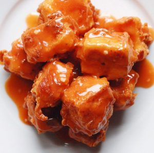 Buffalo Tofu Nuggets