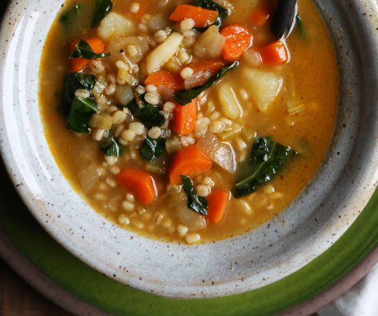Vegetable Barley Soup - Supper With Michelle