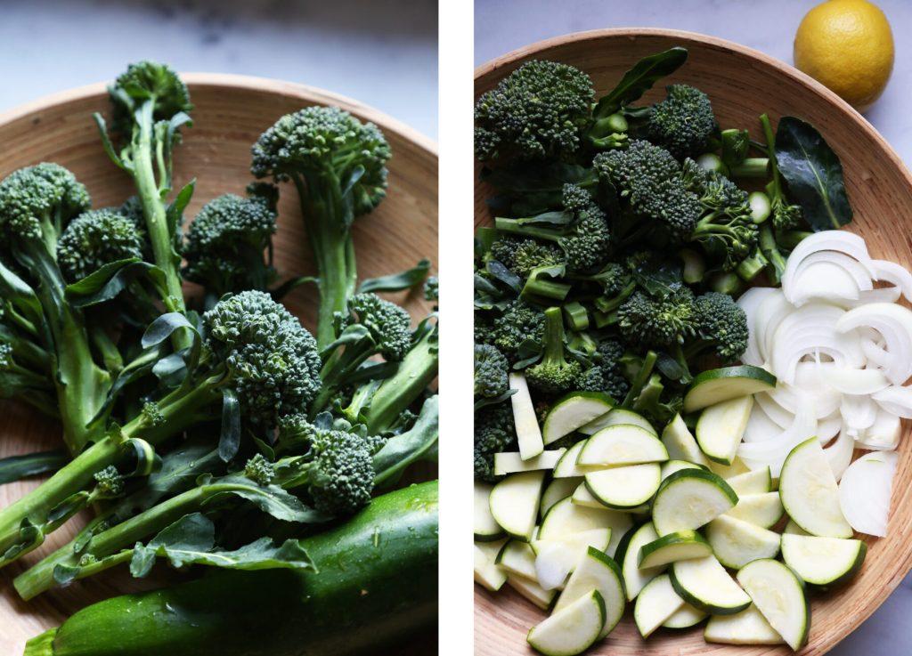 Lemony Broccolini Pasta - Supper With Michelle