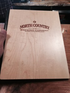 North country menu