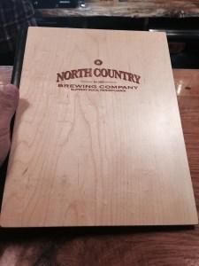 North country menu