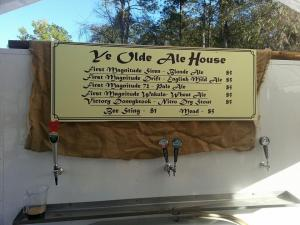 First Magnitude Beers featured along with others at the Hoggetown Medieval Faire