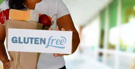 Woman Gluten Free Shopping