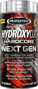 hydroxycut fat burner