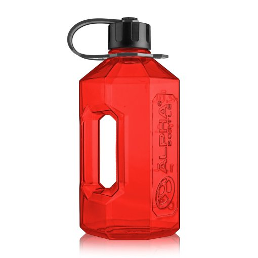 Alpha Bottle 2400ML Red