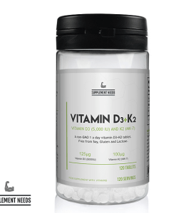 SUPPLEMENT NEEDS VITAMIN D3 AND K2