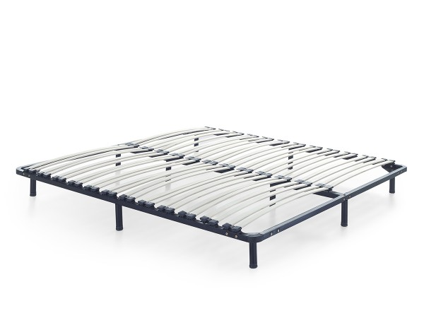 Slatted Frame Mattress Roma Free Standing With Base Feet 90 160