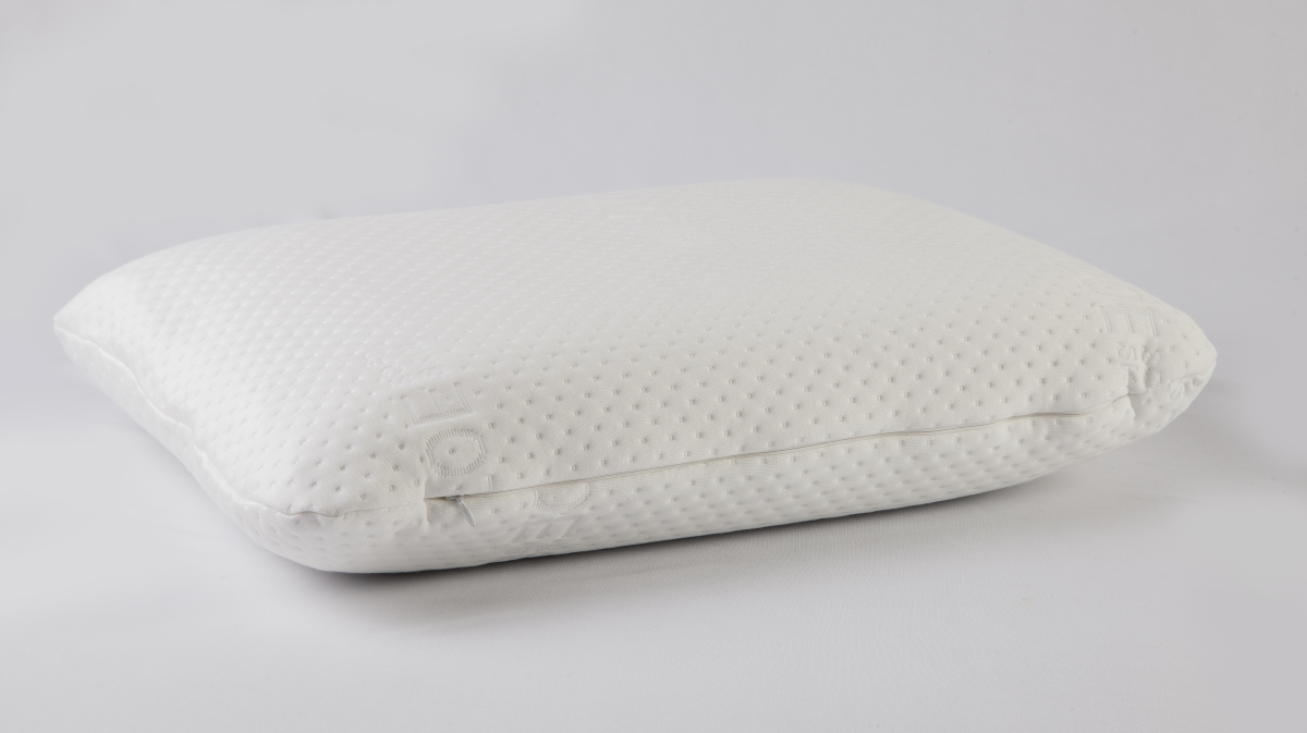 gel visco pillow with gel pad neck support pillow with gel layer memory foam aloe vera cover 60 x 40 x 12 cm