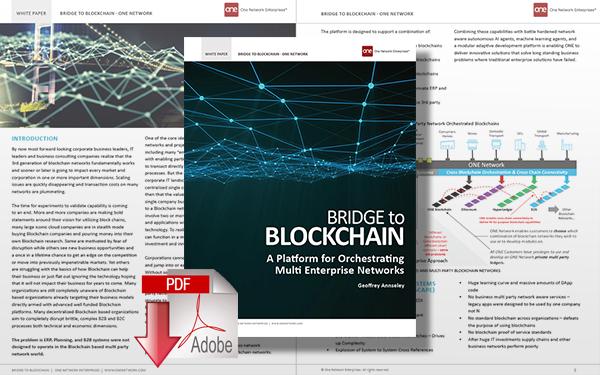 Download Bridge to Blockchain: A Platform for Orchestrating Multi-Enterprise Networks