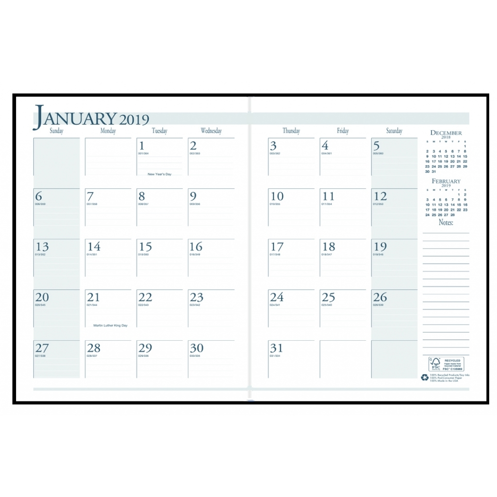 House Of Doolittle Recycled Ruled 14 Month Planner