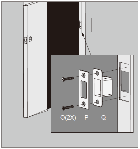 Lockly Smart Lock Door Strike