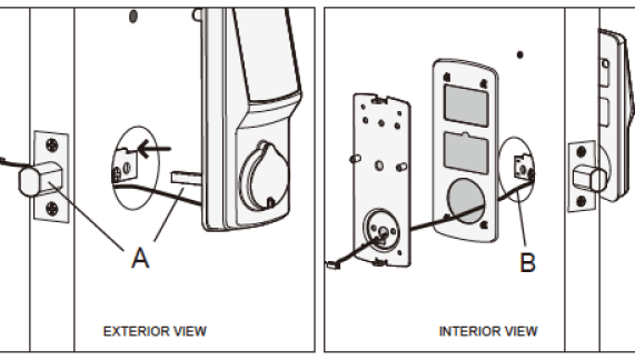 Lockly Smart Lock Exterior 1