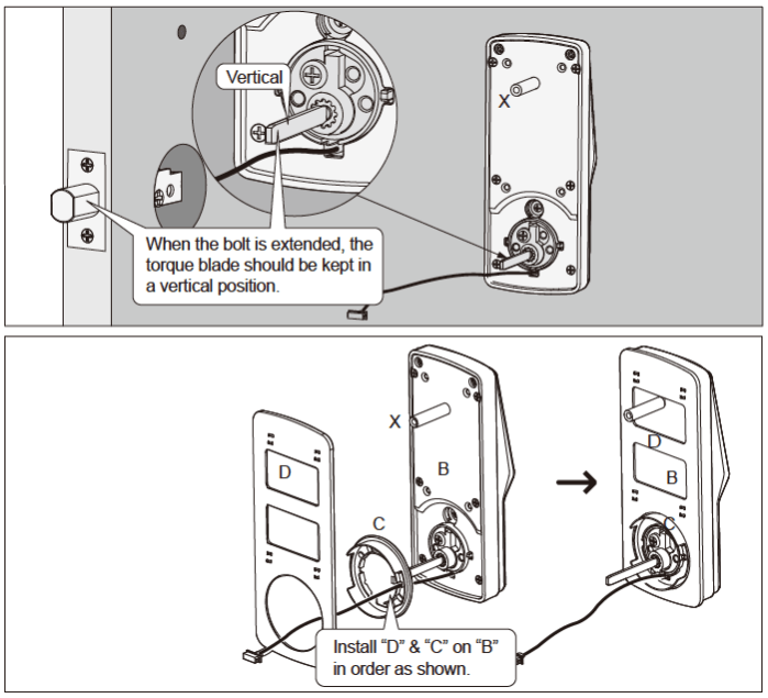 Lockly Smart Lock Exterior