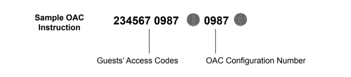 Sample Offline Access Code OAC