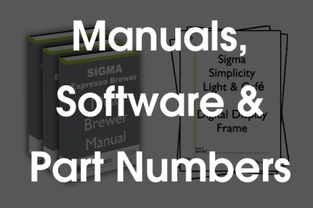 Visit our Technical Section to find Part Numbers, Downloadable Software and Manuals