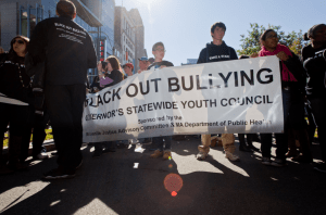 Black out Bullying - Governor's Youth Council in MA Image: Deval Patrick via Flickr