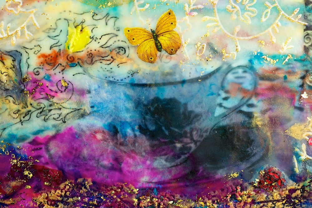 Encaustic painting may have been developed a long time ago, but it lives on, thanks to the educators and student artists who are embracing it today.
