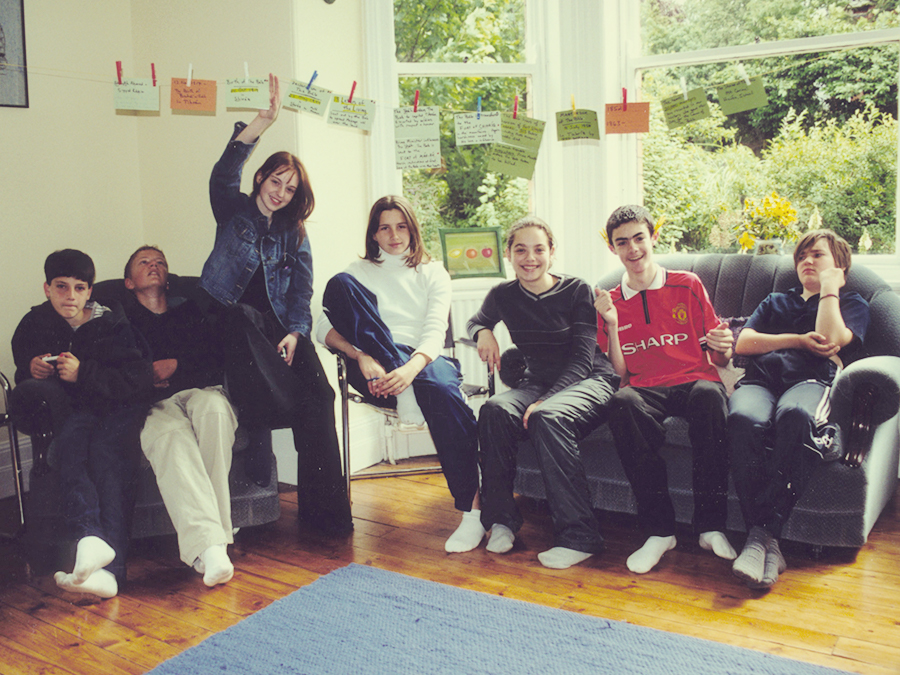 Participants in a Bahai junior youth group in Northern Ireland
