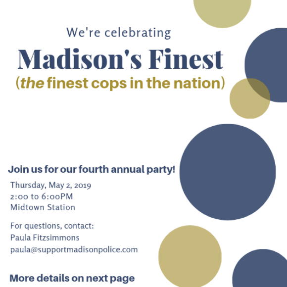 How Much More Of This Can Madison >> We Support The Madison Police Department Defending The Defenders